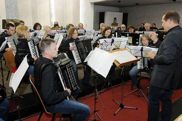Musiker in Hochform