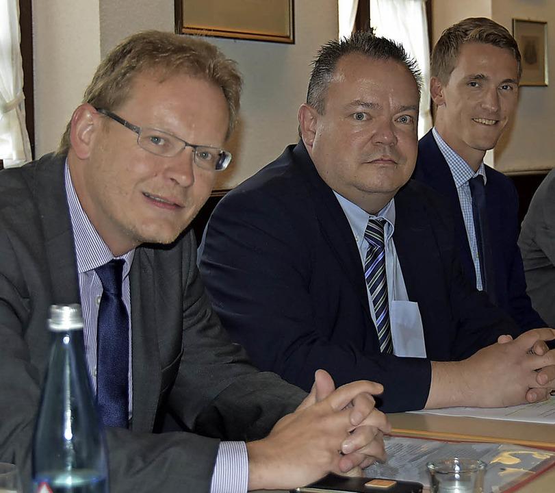 Bundestagsabgeordneter Dörflinger zu Besuch in Gundelfingen  | Foto: Andrea Steinhart
