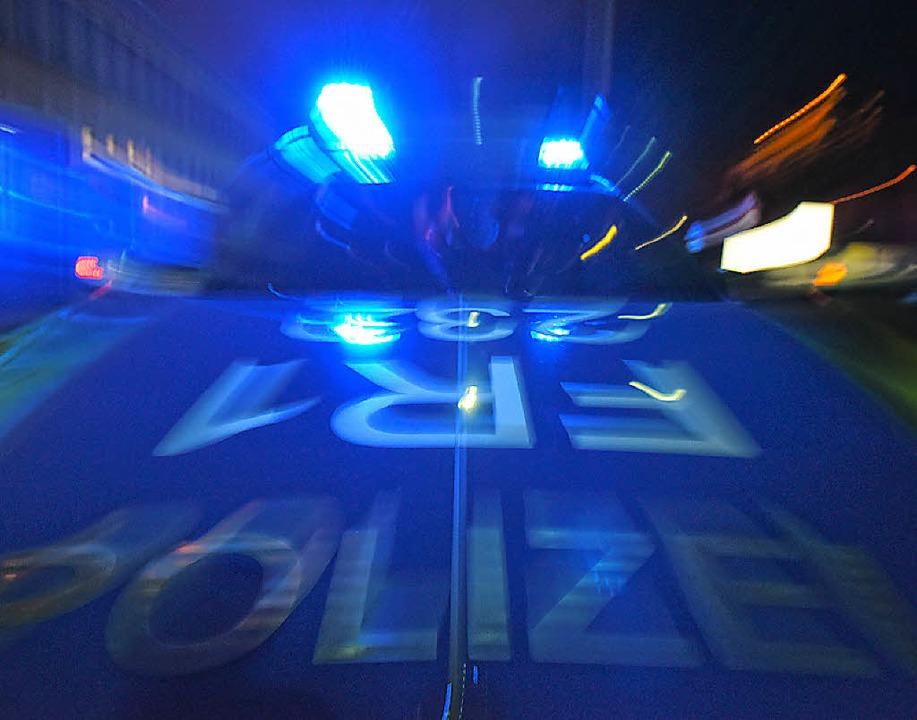 Blaulicht im Rotlichtviertel     Foto: dpa
