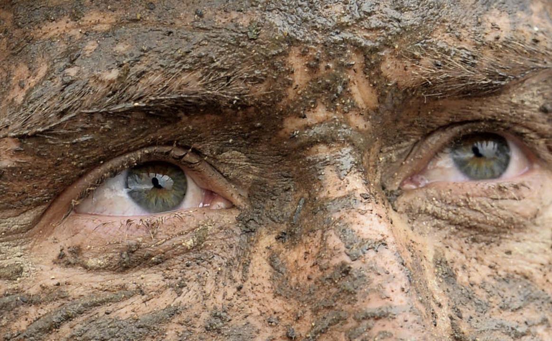 Ein Blick, der  widerspiegelt, was den...d die Lust, sich  schmutzig zu machen.    Foto: Patrick Seeger