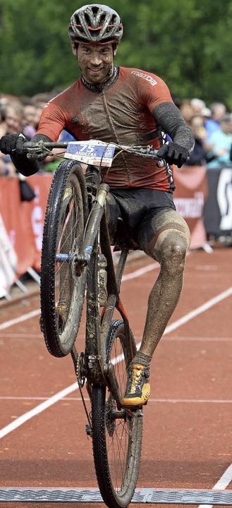 Kunstradfahrer: Ultra-Sieger Andreas Seewald    Foto: Patrick Seeger