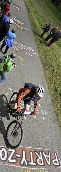 Eine einzige Festmeile:  Der Ultra-Bike    Foto: Patrick Seeger
