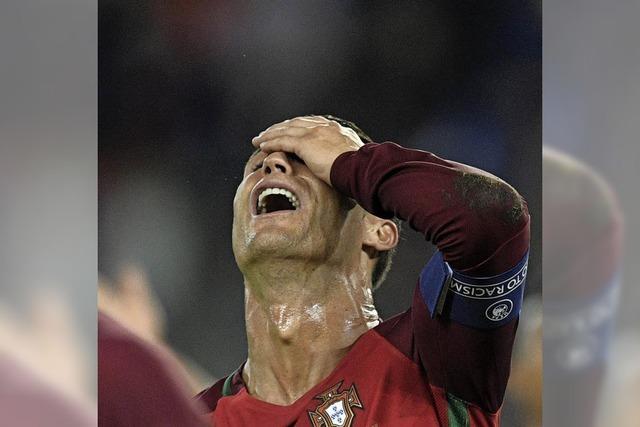 Die Portugiesen verzweifeln