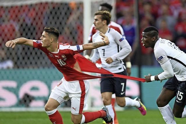 0:0 - Frankreich und die Schweiz stehen im Achtelfinale
