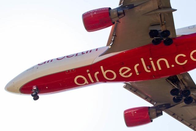Bombendrohung gegen Flug von Air Berlin