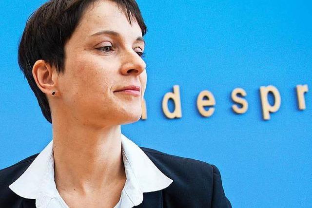 Petry vs. Meuthen: Spaltet der Fall Gedeon die AfD?