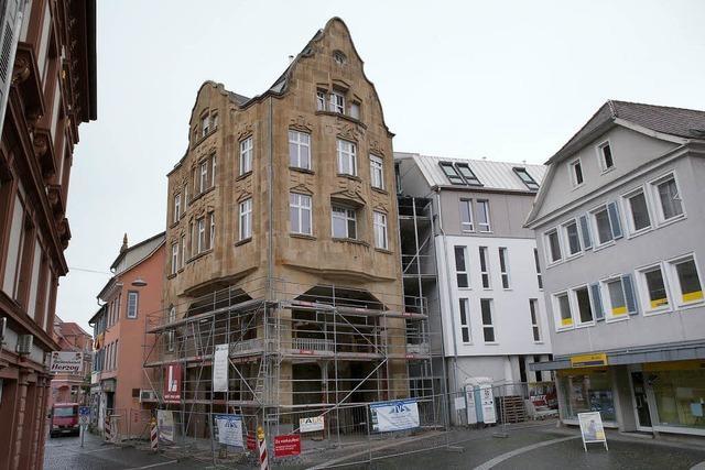 Bauarbeiten am Menzer-Gebäude sollen im September beendet sein