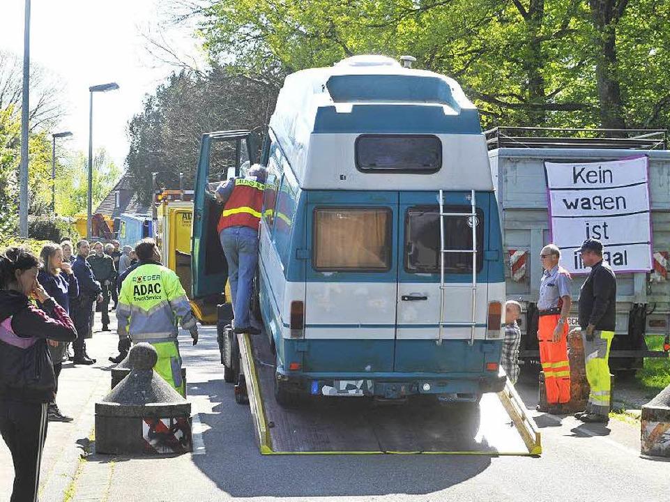 Im April 2014 wurden die Fahrzeuge beschlagnahmt.    Foto: Michael Bamberger