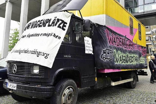 Beschlagnahme der Wagenburg-Fahrzeuge war rechtmäßig