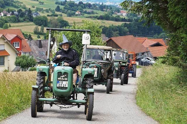 Knatterndes Traktorentreffen in Wittnau