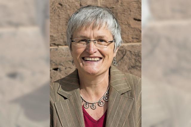 Christine Alff referiert in Murg zum Fairen Handel und zu Oikocrediten