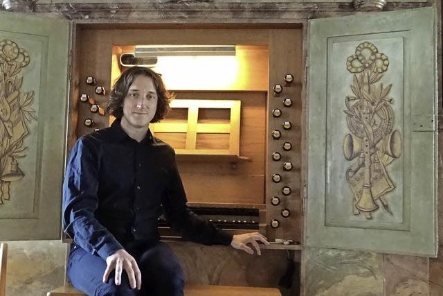 Orgelkonzert mit Lukas Grimm in Malterdingen