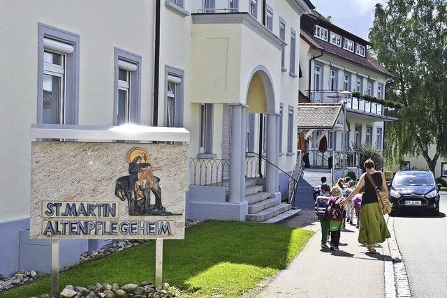 Pläne für Erweiterung des Altenheims