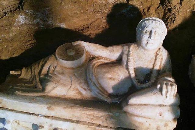 Etruskergrab in Denzlingens Partnerstadt gefunden