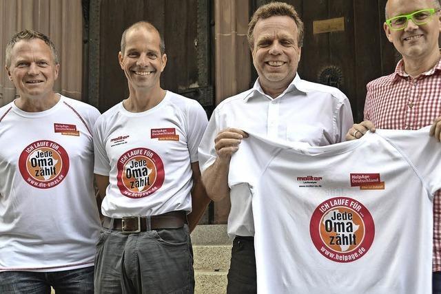 Vier Freunde laufen den Berlin-Marathon und sammeln Geld für eine gute Sache