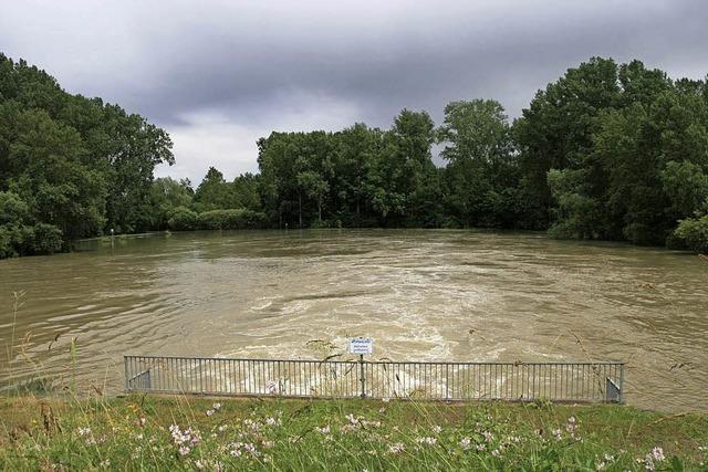Die Hochwasserlage entspannt sich