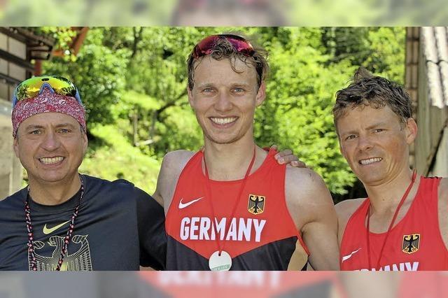 Naegele und Hoffmann am Berg in der Weltklasse