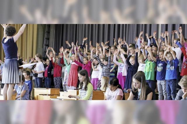 Das nächste Schulfest gibt's zur Einweihung der neuen Grundschule