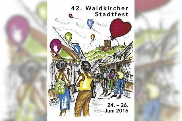 Das Stadtfest steht im Zeichen der Partnerschaft Waldkirch-Sélestat