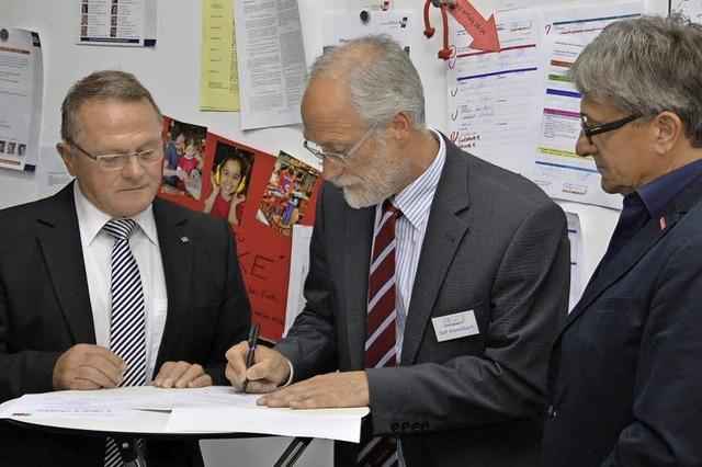 Kooperationsvereinbarung für eine noch bessere Ausbildung