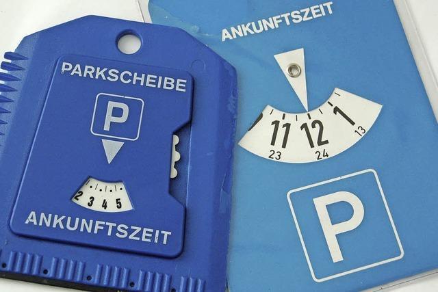 Ordnung in Straßen dank Parkscheiben