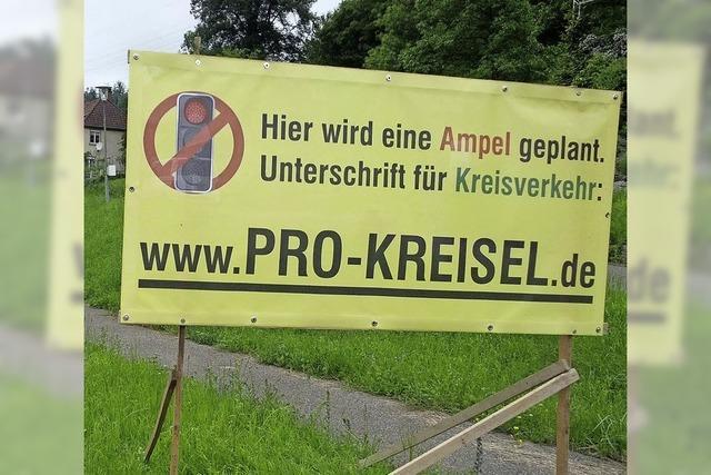 Die BI erwartet 3000 Namen für Rothaus-Kreisel