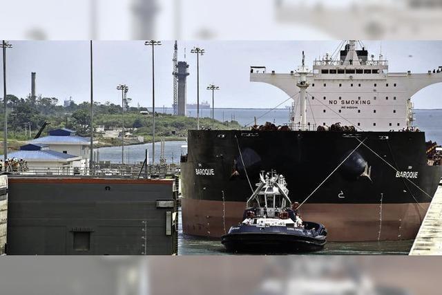 Für Dickschiffe - Panamakanal wurde mit Milliardenkosten ausgebaut