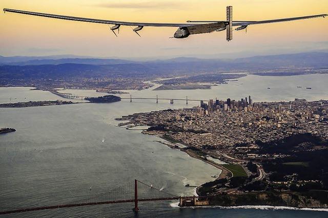 Mit Sonnenenergie über den Atlantik