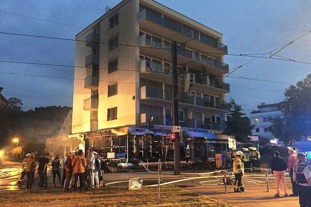 Modellbauladen in Zähringen brennt aus