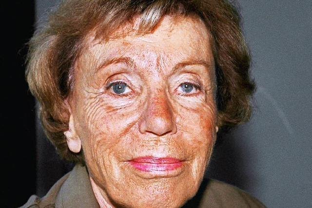 Französische Schriftstellerin Benoîte Groult gestorben