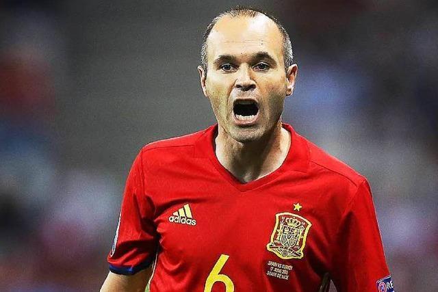 Andrés Iniesta: Taktgeber bei den Spaniern