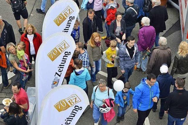 12.000 Besucher feiern mit der BZ Geburtstag
