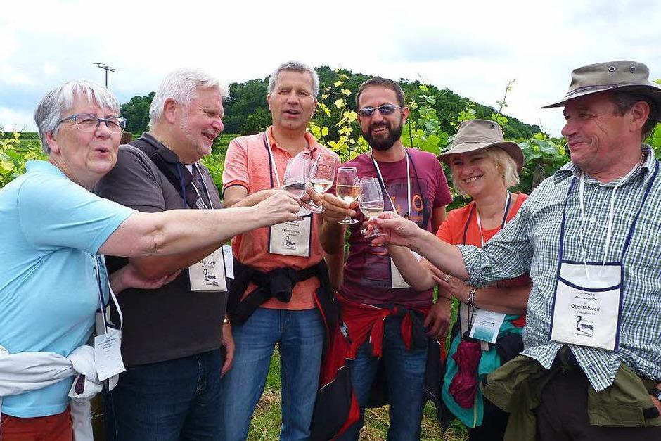 Impressionen von der 14. Internationalen kulinarischen Weinwanderung in Oberrotweil (Foto: Christine Weirich)