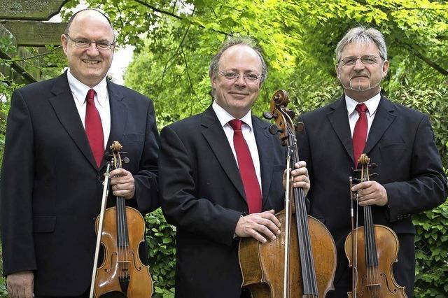 Offenburger Streichtrio spielt Beethoven im alten Kapuzinerkloster