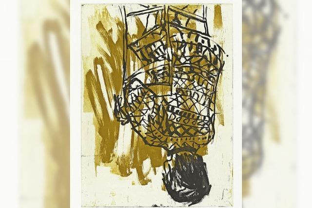 Thema: Kulturgrün. Grafiken von Georg Baselitz in Hinterzarten