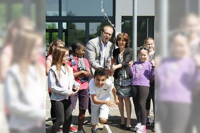 Meißenheims Wehr besucht Gerstheimer Grundschüler