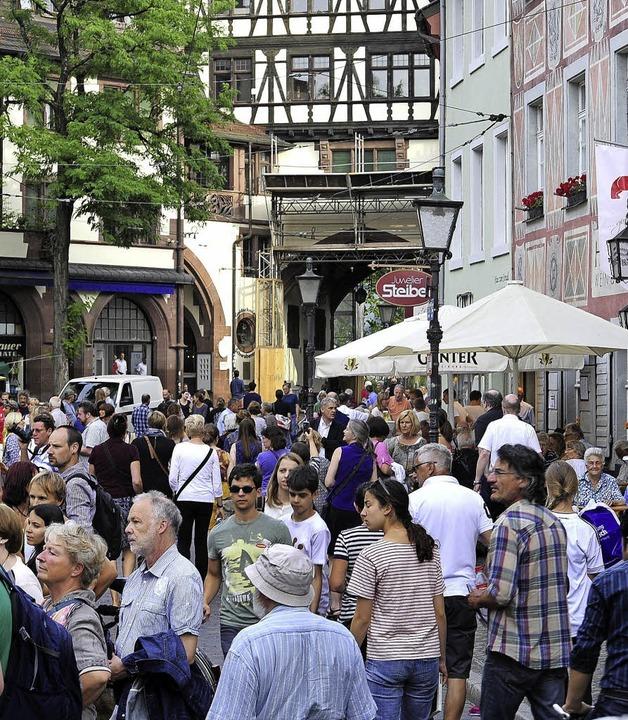 Der Oberlindenhock gilt als Publikumsmagnet.   | Foto: Thomas Kunz