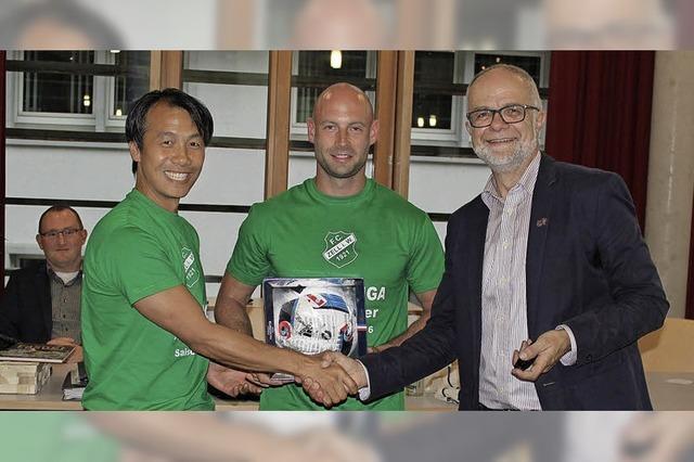 Aufsteiger FC Zell im Gemeinderat geehrt