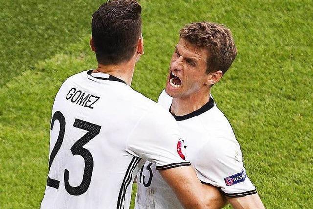 Mini-Sieg nach Maxi-Chancen: Gomez schießt Deutschland ins Achtelfinale der Euro 2016