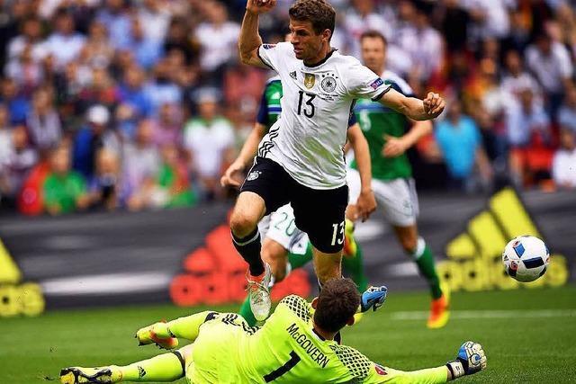 Tweets zum 1:0-Sieg der Deutschen gegen Nordirland