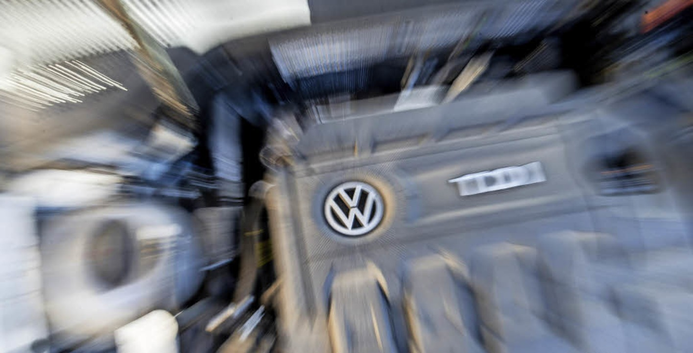 Selbst der eigene Konzernchef zweifelt...einer Zukunft: ein Dieselmotor von VW.  | Foto: dpa