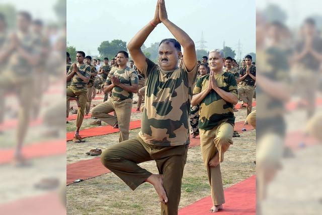 Welttag des Yoga