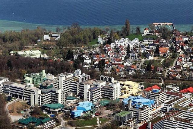 Die Universität Konstanz wird auch