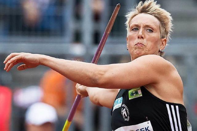 Christina Obergföll fährt nicht zur EM