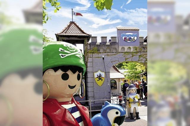 Urlaub mit Playmobil-Funpark