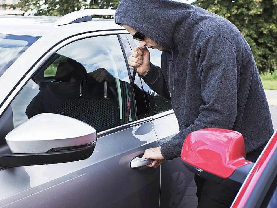 Autoaufbrecher sind in der südlichen Ortenau am Werk.  | Foto: kaspiic_iStock_Thinkstock