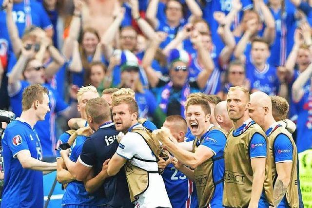 2:1 gegen Österreich: Island feiert EM-Sensation