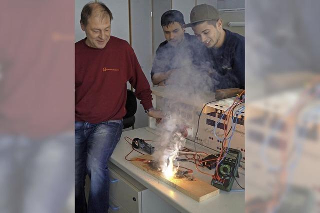 Gewerbe-Akademie Offenburg bildet Handwerkerazubis aus