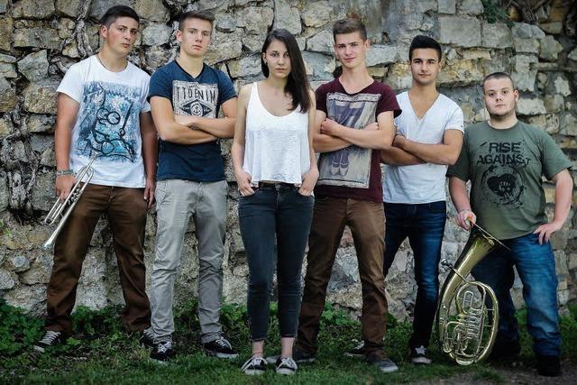 Headliner bei Rock die Berta ist die Ska-PunkBand Yakuzi aus Pforzheim