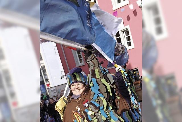 Austragung der ersten Bad Säckinger Stadtmeisterschaft im Fahnenhochwurf